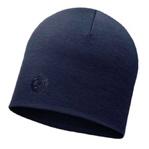 Шапка Buff Heavyweight Merino Wool Hat, Solid Denim