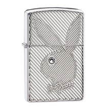 Зажигалка Zippo 28963 Playboy, High Polish Chrome