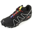 Кроссовки мужские Salomon SpeedCross 3, Black/Black/SI