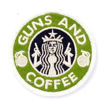 Патч Guns and coffee