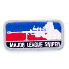Патч Major league sniper, Blue