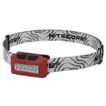 Фонарь налобный Nitecore NU10, Red