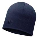 Шапка Buff Heavyweight Merino Wool Hat, Solid Denim