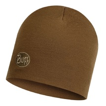 Шапка Buff Heavyweight Merino Wool Hat, Solid Tundra Khaki