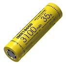 Аккумулятор Nitecore 18650 Li-ion IMR 3100 mAh (10A) 3.7V