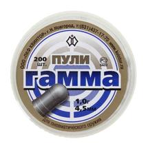 Пули свинцовые Квинтор Гамма 1 г 4,5 мм (200 шт)