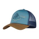 Бейсболка Buff Trucker Cap, Brak Stone Blue