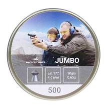 Пули свинцовые Borner Jumbo 4.5 мм (500 шт)