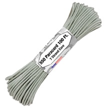 Паракорд 550 Atwood Rope USA, Grey (16м)