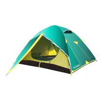 Палатка Tramp Nishe V2 3-x местная, Green