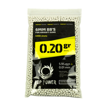 Шары Top Power Precision BBs 0.20 х 4000, White
