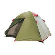 Палатка Tramp Tourist Lite 3-x местная, Green