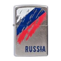 Зажигалка Zippo 207 Флаг России, Russia Flag