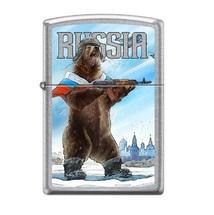 Зажигалка Zippo 207 Русский медведь, Russian Bear