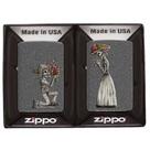 Набор зажигалок Zippo 28987 Влюбленые зомби, Iron Stone