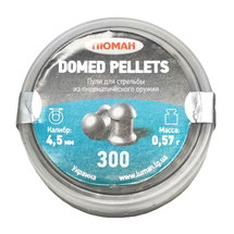 Пули Люман Domed Pellets 4,5 мм 0.57 г (300 шт)