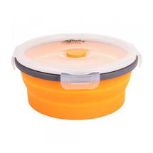 Контейнер Tramp силиконовый складной 550 мл, Orange
