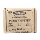 Пули свинцовые Люман Pointed pellets 0,57 г 4,5 мм (1250 шт)
