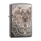 Зажигалка Zippo 49074 Слон, Elephant Fancy Fill Design