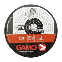 Пули свинцовые Gamo Match 5,5 мм (250 шт)