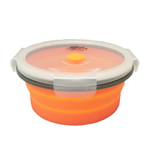 Контейнер Tramp силиконовый складной 800 мл, Orange