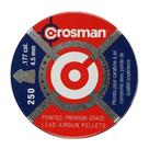 Пули свинцовые Crosman Pointed 4,5 мм (250 шт)