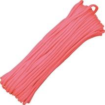 Паракорд 550 GITD светящийся, Pink (16м)