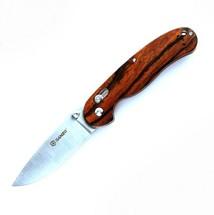 Нож складной Ganzo G727M, Wood