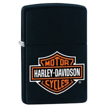 Зажигалка Zippo 218 Harley-Davidson, Black Matte