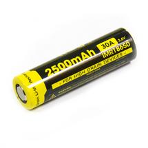 Аккумулятор Nitecore 18650 Li-ion IMR 2500 mAh (30A) плоский