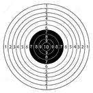 Мишень Remington бумажная 50x50 см