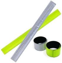 Браслет световозвращающий самофиксирующийся 30x300, Neon Green