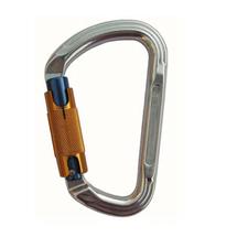Карабин Vertikal D-образный автомат байонетный Keylock, дюраль