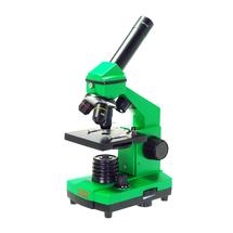 Микроскоп Микромед Эврика 40х-400х в кейсе, Lime