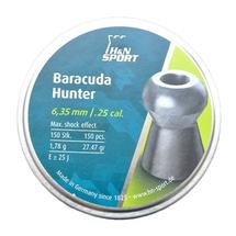 Пули свинцовые H&N Baracuda Hunter 6,35 мм (150 шт)