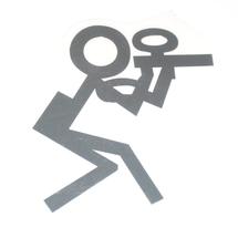 Эмблема на автомобиль Пейнтболист
