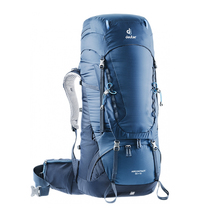 Рюкзак Deuter Aircontact, Midnight/Navy 55+10 л