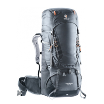 Рюкзак Deuter Aircontact, Graphite/Black 55+10 л