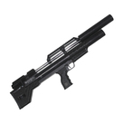 Винтовка пневматическая Krugergun PCP Снайпер буллпап редуктор, 420 мм, cal 6.35, Black