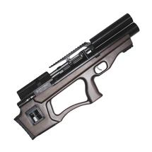 Винтовка пневматическая Krugergun PCP Снайпер буллпап редуктор, 300 мм, cal 5.5, передний вз, Wood