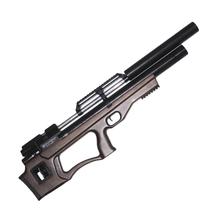 Винтовка пневматическая Krugergun PCP Снайпер буллпап прямоток, 500 мм, cal 6.35, Wood