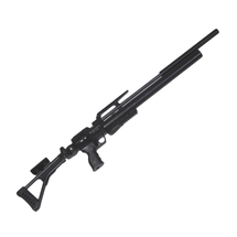 Винтовка пневматическая Krugergun PCP Снайпер стандарт редуктор, 580 мм, cal 6.35, Black