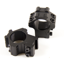 Кольца М19 на ласточкин хвост с планками Weaver/Picatinny 25,4 мм (2 шт)