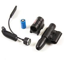 ЛЦУ LaserScope с 2 креплениями и выносной кнопкой 20mw, Red