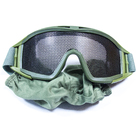 Маска защитная Tacgear Netting NVG сетчатая, Olive