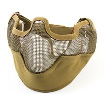 Маска защитная нижней части лица Tacgear Netting с защитой ушей сетчатая, Tan