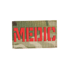 Патч SP маска Medic, A-Tacs/Red