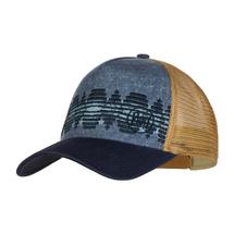Бейсболка Buff Trucker Cap, Tzom Stone Blue