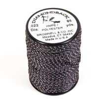 Нить обмоточная Brownell Serving Thread Diamodback 0,022, Black