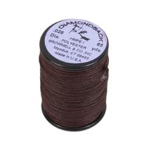 Нить обмоточная Brownell Serving Thread Diamodback 0.026, Black/Red